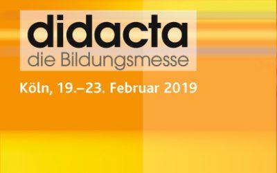 Die DGhK auf der Didacta 2019 in Köln
